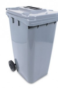 65 Gallon Secured Bin